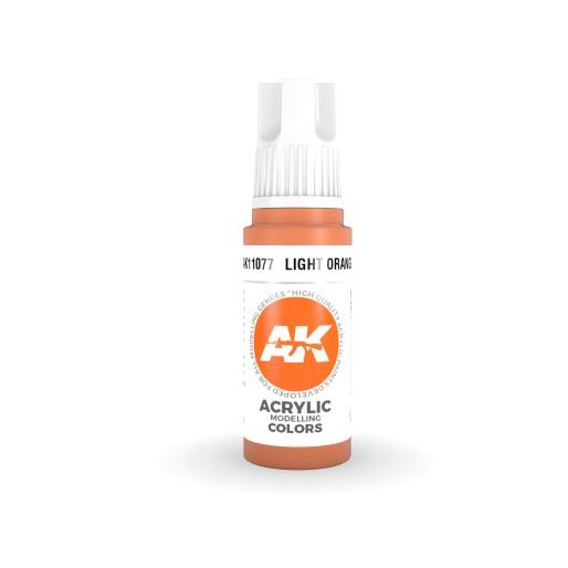 AK Interactive AK11077 Light Orange 17ml