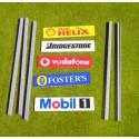 Slot Track Scenics Advert Boards 1 B