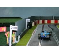 Slot Track Scenics Marqueurs Point de Freinage 1/2