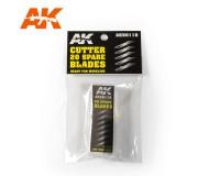 AK Interactive AK9011B Cutter 20 Lames de Rechange