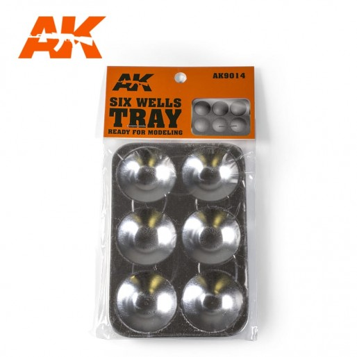 AK Interactive AK9014 Six Wells Tray