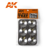 AK Interactive AK9014 Six Wells Tray