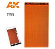 AK Interactive AK8056 EASYCUTTING BOARD TYPE 1