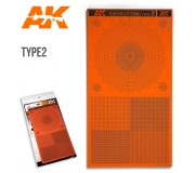 AK Interactive AK8057 EASYCUTTING BOARD TYPE 2