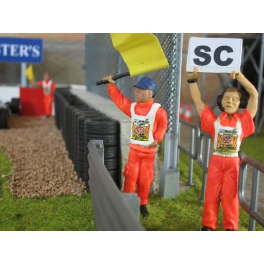 Slot Track Scenics Dec. 4 Marshals bib decals