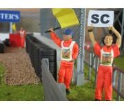 Slot Track Scenics Dec. 4 Decals Dossard pour Commissaires