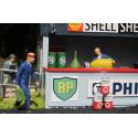 Slot Track Scenics Dec. 5 Classic Oil can decals