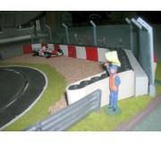 Slot Track Scenics FK 1 Clôtures de Sécurité Kit 1