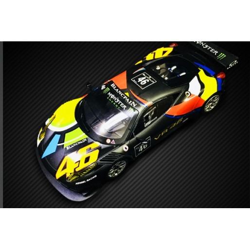 Black Arrow Black Ferrari 458 Italia GT3 1//32 Scale Slot Car Kit MKITAA