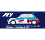 FLY E2008 Renault 5 Turbo Rally El Corte Ingles 1986
