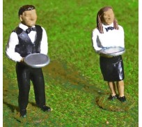 Slot Track Scenics Fig. 4 Waiter and Waitress