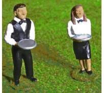 Slot Track Scenics Fig. 4 Waiter and Waitress