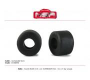 NSR 5320 Slick Rear - 19,5 x 13 EXTREME for 13 Ø wheels (4pcs)