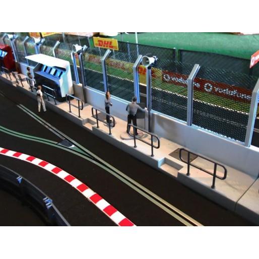 Slot Track Scenics Mur de Stand