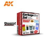 Doozy DZ010 Set de Poubelles