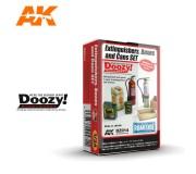 Doozy DZ014 Set d'Extincteurs, Caisses et Bidons