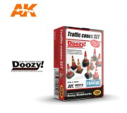 Doozy DZ016 Traffic Cones Set