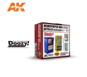Doozy DZ019 Newspaper Machine Sets 3
