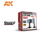 Doozy DZ020 Machine à journaux & Téléphone Public