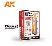 Doozy DZ024 Pompe à Essence Route 66