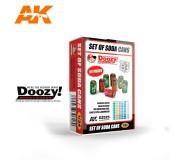 Doozy DZ025 Set de Canettes de Soda