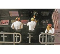 Slot Track Scenics Fig. 6 Figurines Pit Wall Pack B