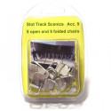 Slot Track Scenics Acc. 9 5 chaises ouvertes et 5 pliées
