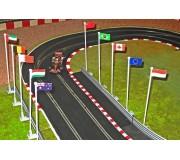 Slot Track Scenics FP A Flags Pack A