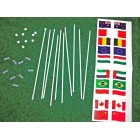 Slot Track Scenics FP A Flags Pack A