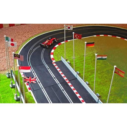 Slot Track Scenics FP B Flags Pack B
