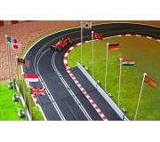 Slot Track Scenics FP B Flags Pack B