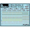 MiniArt 35571 Wine Bottles & Wooden Crates