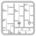 MiniArt 35603 Ensemble d'Outils