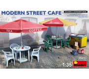 MiniArt 35610 Modern Street Cafe