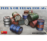 MiniArt 35613 Fuel & Oil Drums 1930-50s