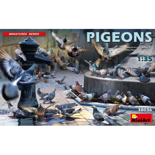 MiniArt 38036 Pigeons