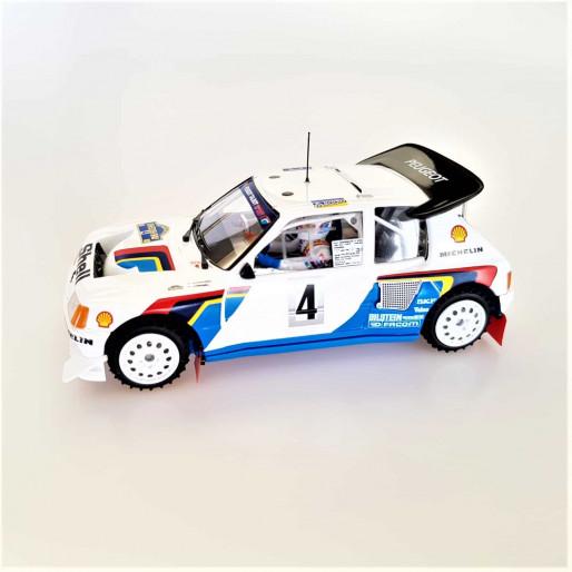 SRC 03701 Peugeot 205 T16 EVO2 Rally Montecarlo 1986 Timo Salonen - S. Harjanne