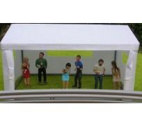 Slot Track Scenics TE 2 Hospitality Tent