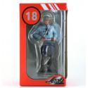 LE MANS miniatures Figure 1/18 Michel, policier motocycliste