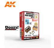 Doozy DZ029 Caisse en Bois avec Bouteilles Jack Daniel's