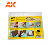AK Interactive AK9045 Airbrushing Masking Film (2 units size A4)