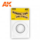 AK Interactive AK9124 Masking Tape for Curves 3 mm