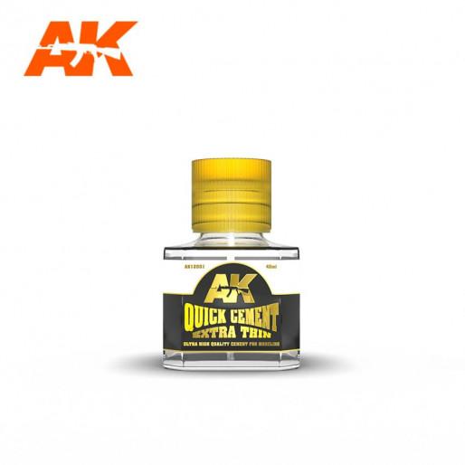 AK Interactive AK12001 Quick Cement Extra Thin