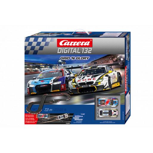 22A 32 Scale Digital 132 Slot Car Racing Vehicle 30869 Audi R8 LMS No Carrera 1