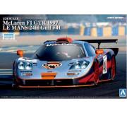 AOSHIMA 00752 Kit 1/24 McLaren F1 GTR 1997 LE MANS 24H Gulf n°41