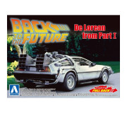 AOSHIMA 05475 Kit 1/43 Pullback DeLorean Back to the Futur Part 1