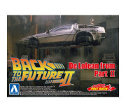 AOSHIMA 05476 Kit 1/43 Pullback DeLorean Back to the Futur Part II