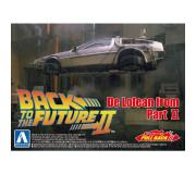 AOSHIMA 05476 Kit 1/43 Pullback DeLorean Back to the Futur Part II