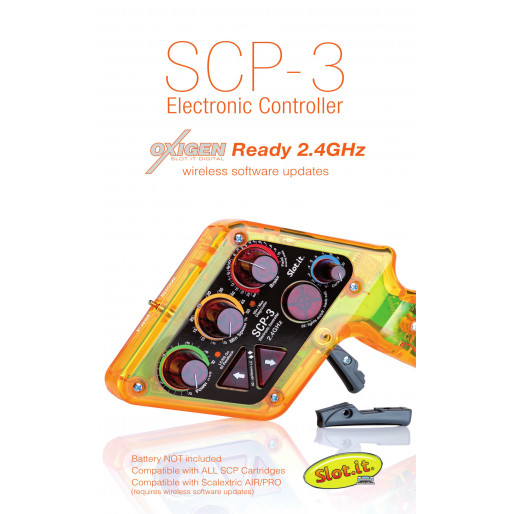 Slot.it SCP301a SCP-3 Electronic Controller oXigen Ready 2.4Ghz