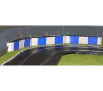 Slot Track Scenics TC-B Couvre Pneus avec blocs bleus x5